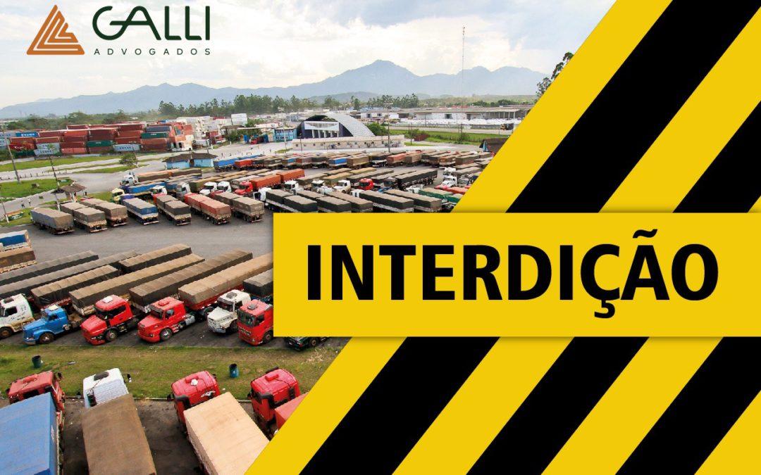Justiça suspende interdição realizada pela Prefeitura Municipal de Paranaguá em transportadora da cidade