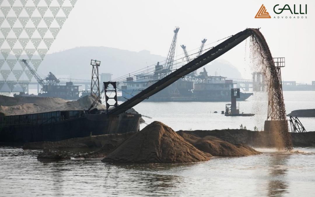 Município de Pontal do Paraná tenta proibir o funcionamento de empresa de extração de areia, mas pedido é negado pela justiça